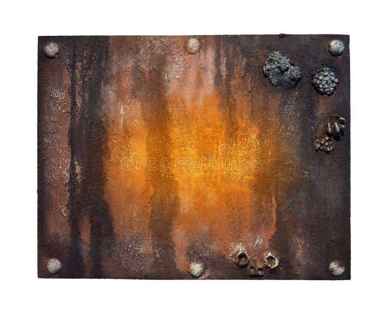 Download Nad Signboard Biel Metalu Odosobniony Przedmiot Obraz Stock - Obraz złożonej z teren, metal: 57660979