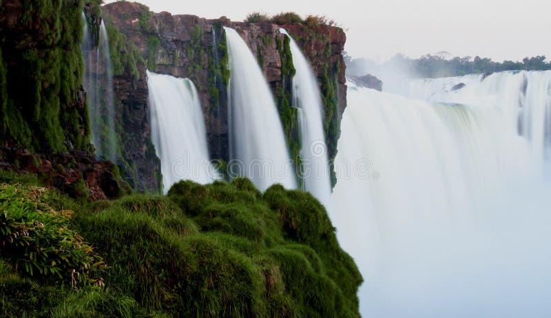 Nad spadkami przy Iguazu zdjęcie royalty free