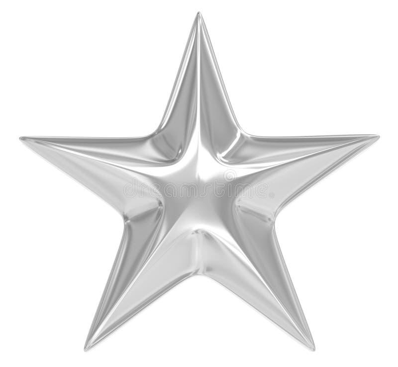 nad srebra gwiazdy biel ilustracji