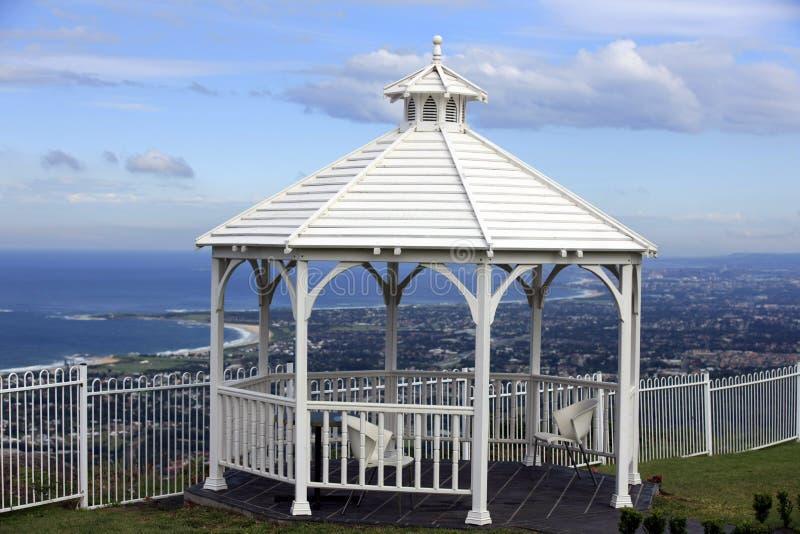 nad Wollongong Australia punkt obserwacyjny obrazy stock
