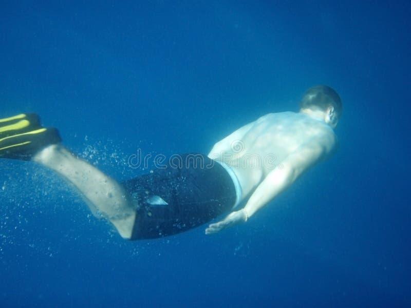 Nadada subaquática foto de stock royalty free