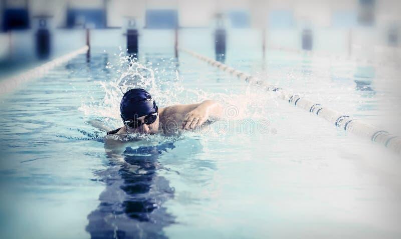 Nadador imagenes de archivo
