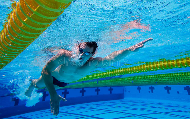 Nadador imagem de stock royalty free
