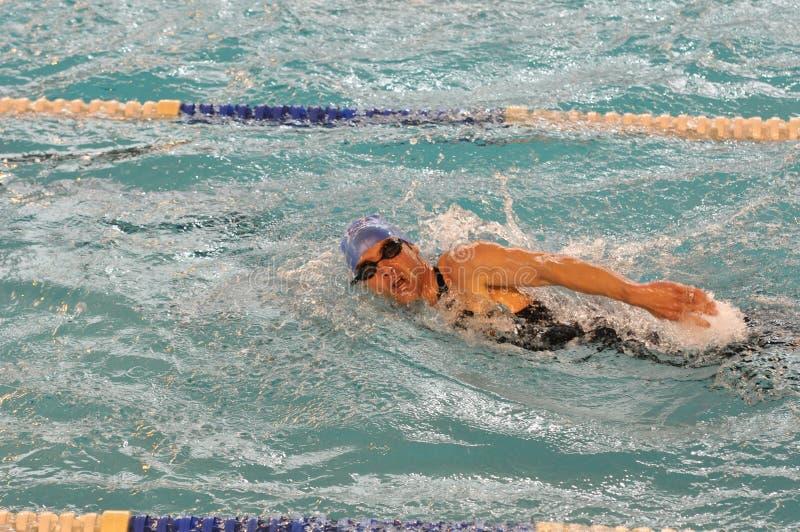 Nadador fotografia de stock royalty free