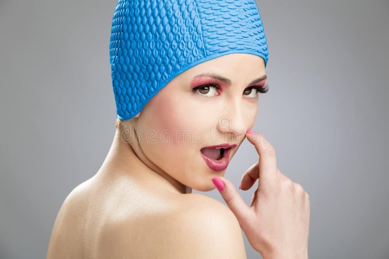 Nadador Girl fotos de stock royalty free