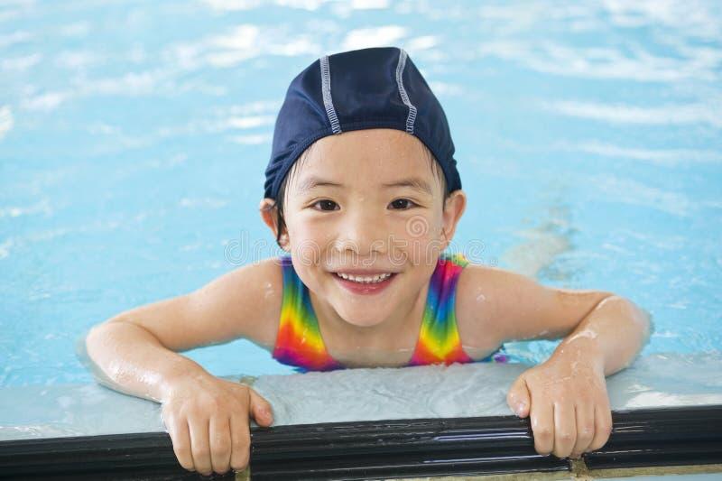 Nadadores pequenos foto de stock