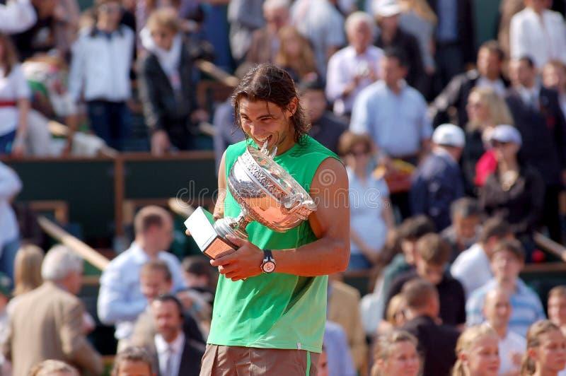 Nadal Rafaël # 1 dans le monde (11) photographie stock libre de droits