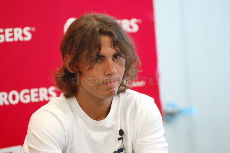 Nadal Rafaël # 1 dans le triphosphate d'adénosine 2008 (1) photo libre de droits