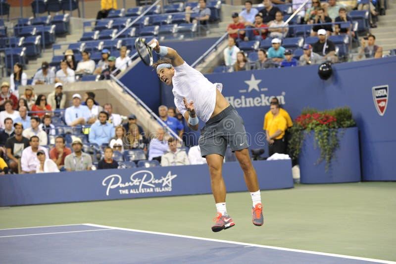 Nadal Rafael på USOPEN 2013 (17) arkivfoton