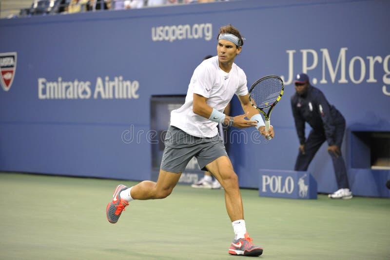 Nadal Rafael an USOPEN 2013 (13) stockbild