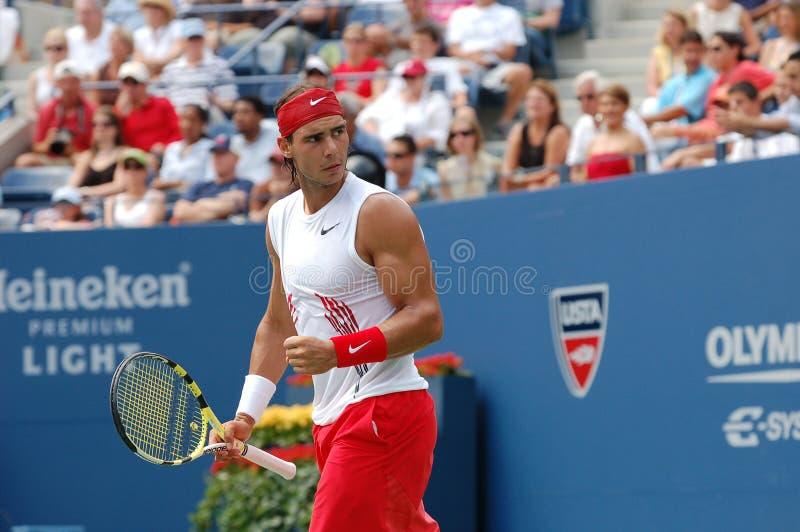 Nadal USA ouvrent le juba 2008 (51) image stock