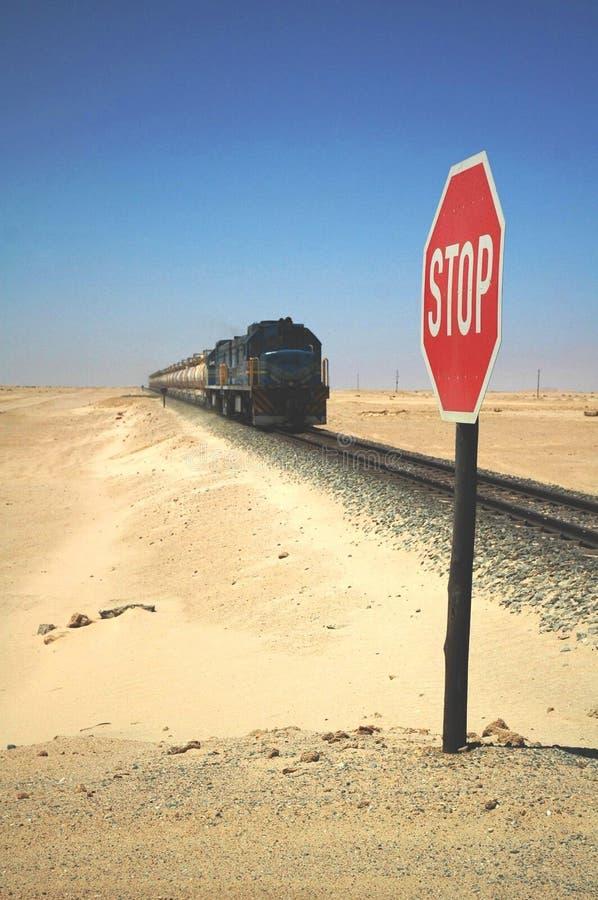 nadchodzący wolny pociąg fotografia stock