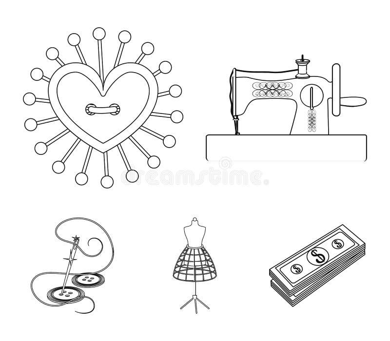 Nadel Und Thread, Nähmaschine, Nadelkissen, Blind Für Kleidung Nähen ...