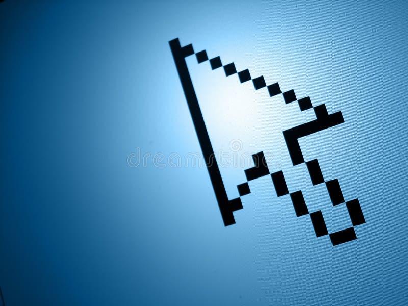 Download Nadelanzeige stockbild. Bild von nadelanzeige, computer - 37103