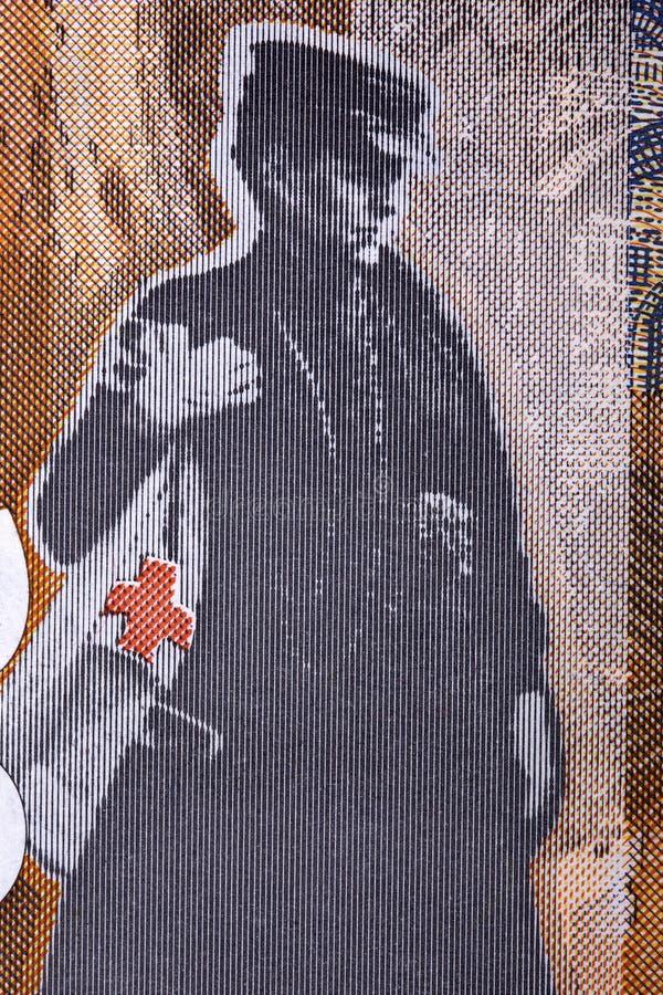Nadezda Petrovic en stående från serbiska pengar arkivfoton