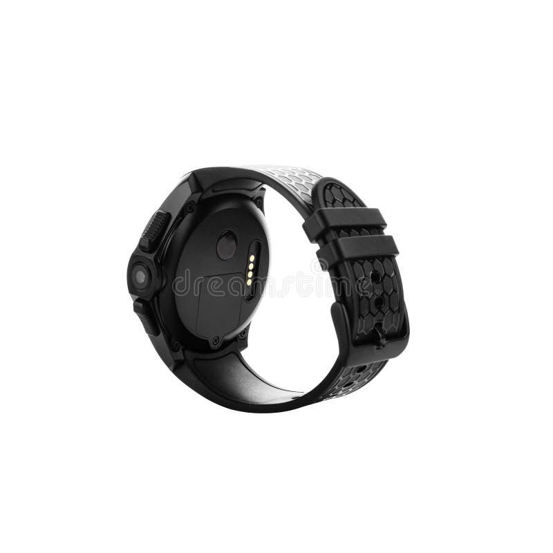Nadgarstku mądrze zegarka tylni widok zdjęcia royalty free