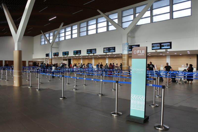 Nadi lotnisko międzynarodowe Fiji fotografia royalty free