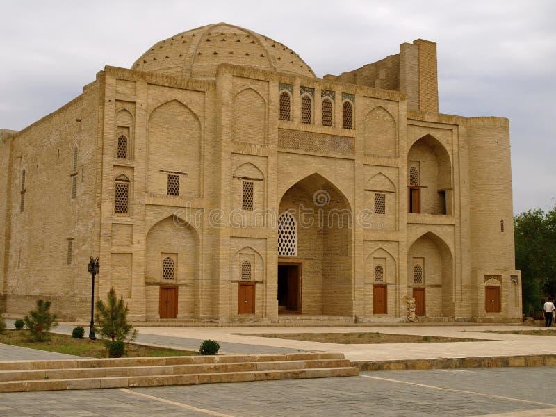 Nadir Divan Begi Khanaka Bukhara royaltyfria foton