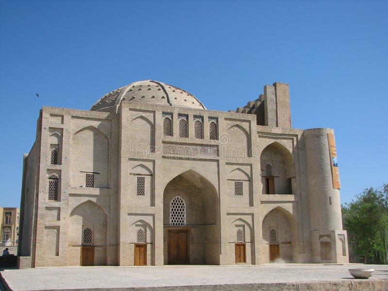 Nadir Divan-Begi khanaka i Bukhara arkivfoton