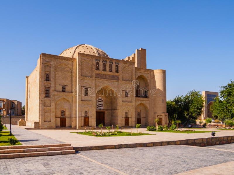 Nadir Divan-Begi khanaka - Sufi kloster, Bukhara, Uzbekistan Unesco-världsarv royaltyfri foto