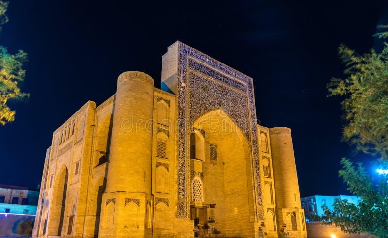 Nadir Divanbegi Khanaka w Bukhara, Uzbekistan zdjęcie stock