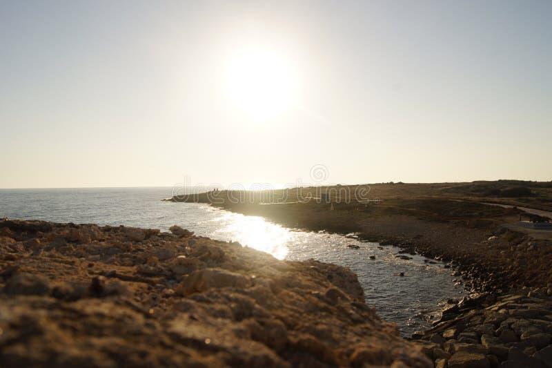 Nadmorski Cypr zdjęcia royalty free