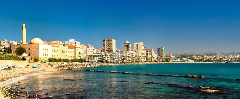Nadmorski opona w Liban fotografia stock