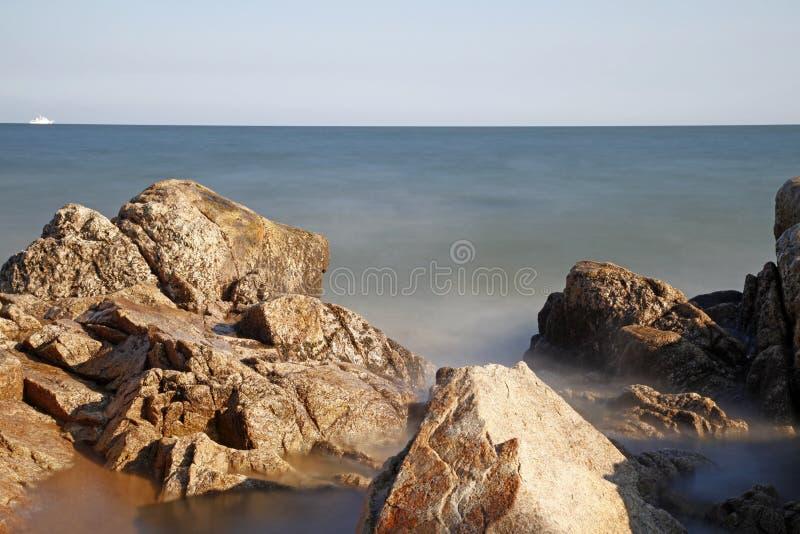 Nadmorski sceneria fotografia stock