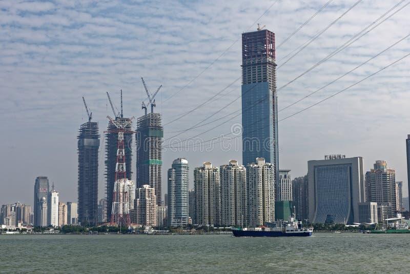 Nadmorski Xiamen wyspa obrazy stock