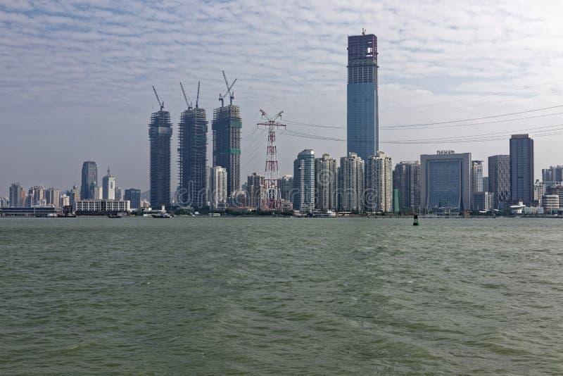 Nadmorski Xiamen wyspa fotografia royalty free