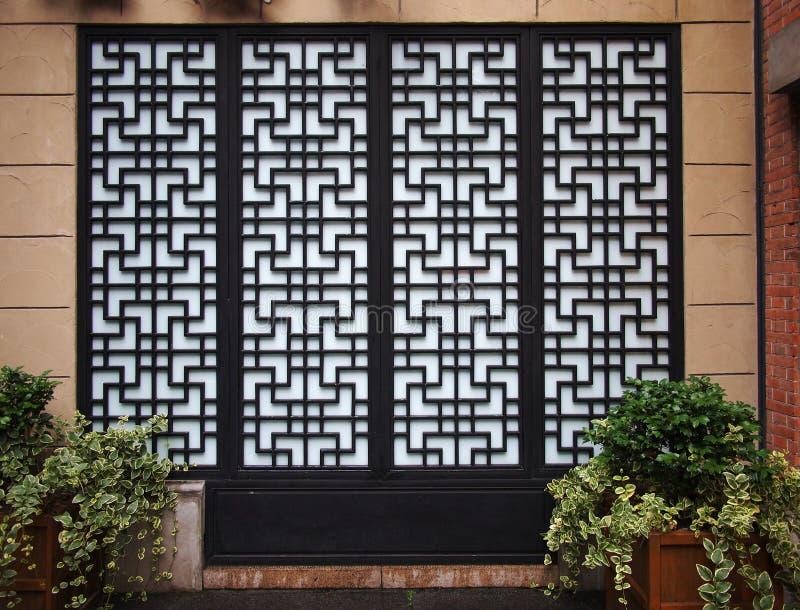 nadokienni chińscy drzwi obrazy royalty free