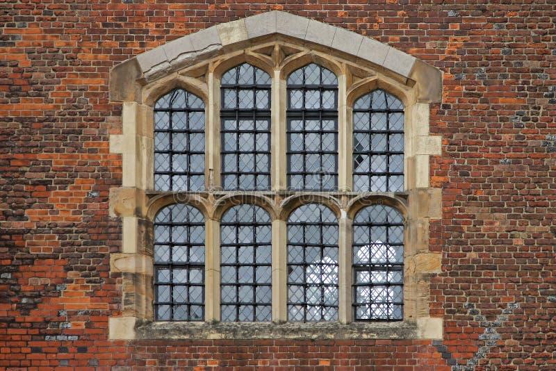 Nadokienny brickwall obrazy stock