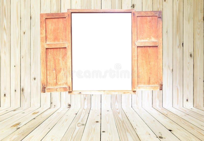 Nadokienny i drewniany tekstury tło fotografia stock