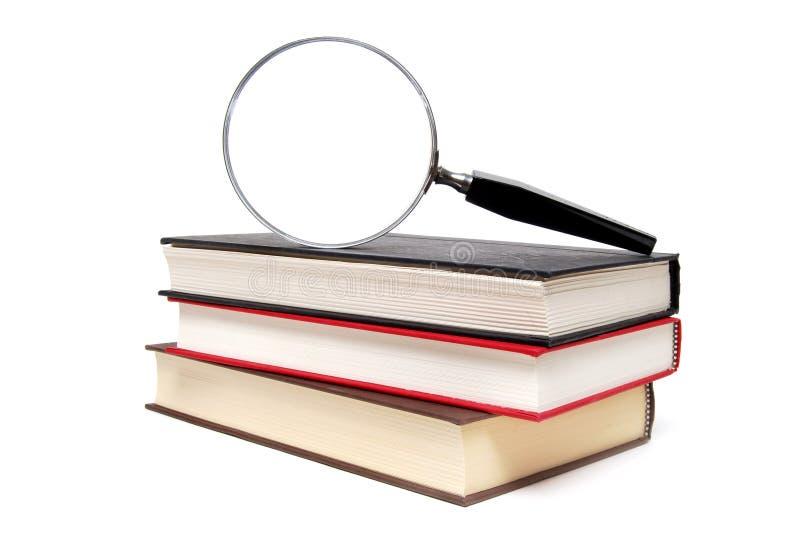 Nadruk op boeken royalty-vrije stock afbeeldingen