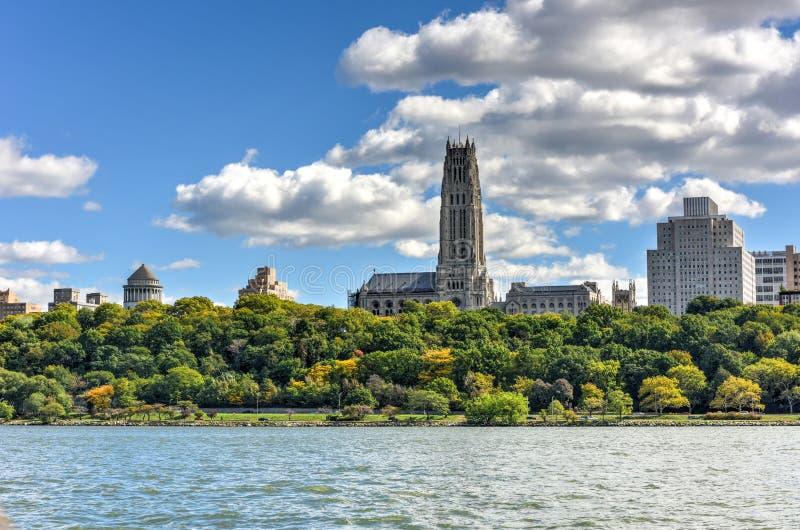 Nadrzeczny kościół - Nowy Jork zdjęcia stock