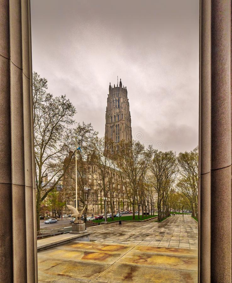 Nadrzeczny Kościelny Nowy Jork obrazy stock
