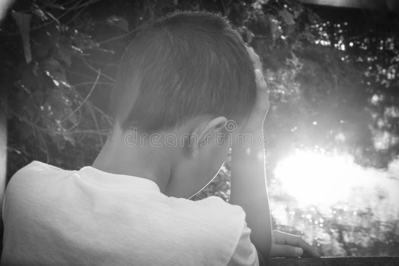 nadużywający dziecko zdjęcie royalty free