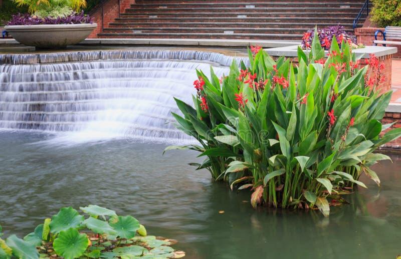 Nadwodny woda ogród Frederick Maryland fotografia royalty free