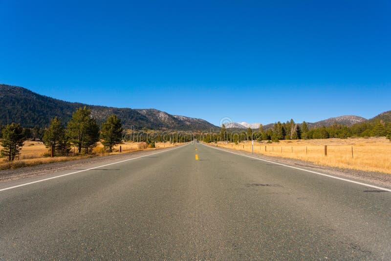 Nadziei dolina, Kalifornia, Stany Zjednoczone zdjęcie stock