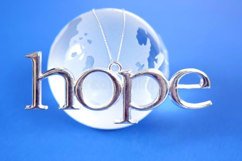 nadzieja świata zdjęcie stock