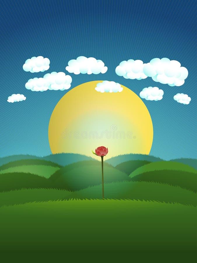 Download Nadzieja ilustracji. Ilustracja złożonej z krajobraz - 57658157