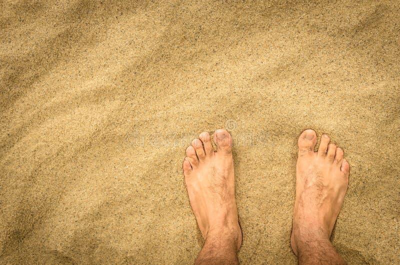 Nadzy cieki w pustyni obrazy stock