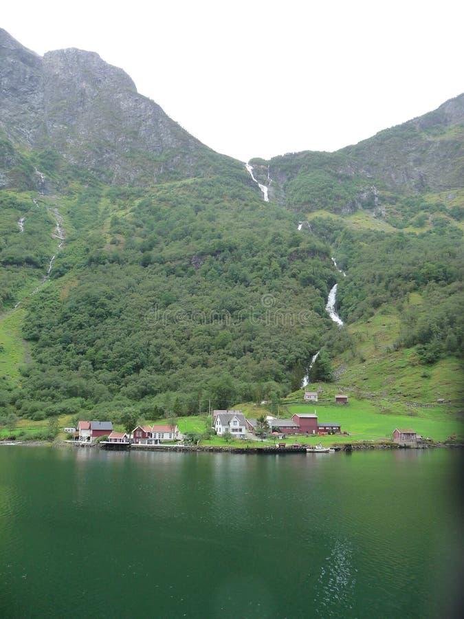 Naeroy-Fjord stockfotografie