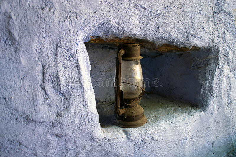 Nafciana lampa zdjęcia stock