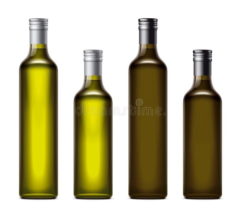 Nafciane butelki ilustracji