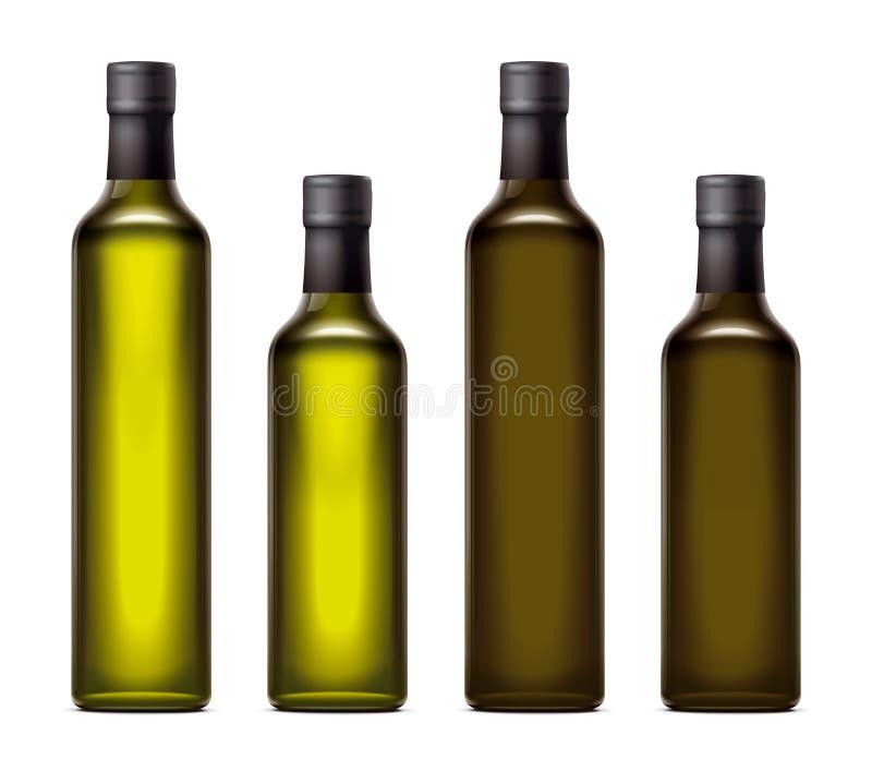 Nafciane butelki ilustracja wektor