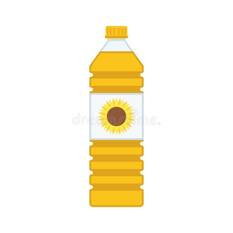 nafciany butelki warzywo royalty ilustracja
