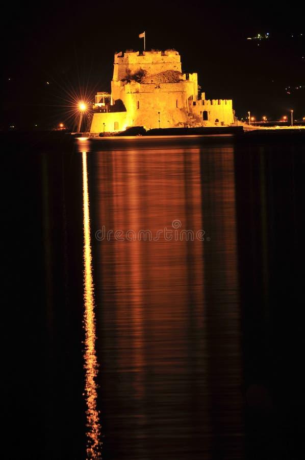 nafplio Греции замока bourtzi стоковая фотография rf