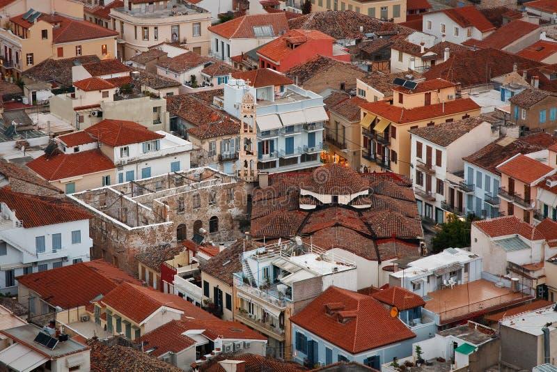 Nafplio, Peloponese, Grecia fotografia stock libera da diritti