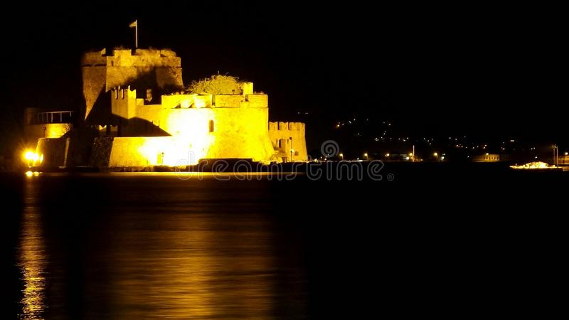 Nafplion Castle royalty free stock images